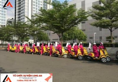 Dịch vụ tổ chức chạy Roadshow giá rẻ tại Long An