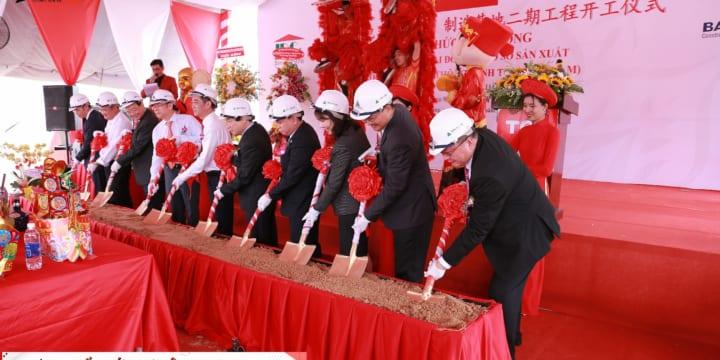 Dịnh vụ tổ chức lễ khởi công chuyên nghiệp tại Long An