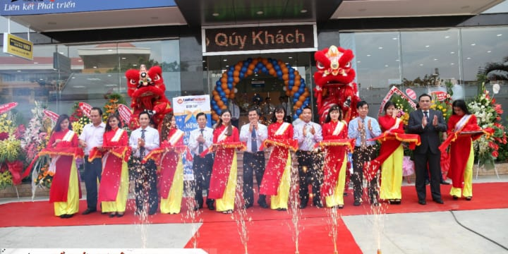 Tổ chức lễ khai trương chuyên nghiệp tại Long An