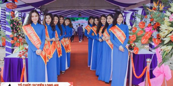Tổ chức lễ khởi công giá rẻ tại Long An