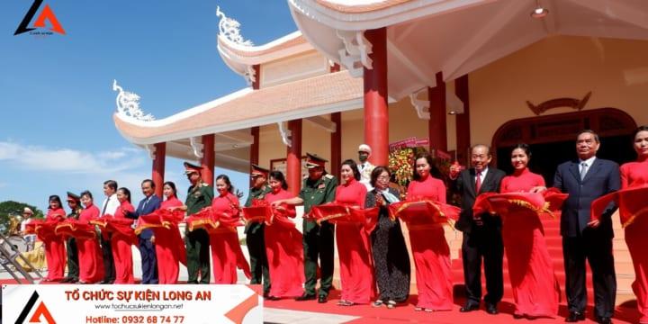 Công ty tổ chức lễ khánh thành tại Long An